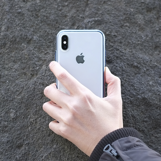 Air jacket Shockproof for iPhone XR (White)
