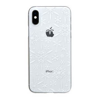 "【Web限定】Air Jacket ""Kiriko"" for iPhone XS 雪片 クリア"