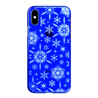 "【Web限定】Air Jacket ""Kiriko"" for iPhone XS 雪片 瑠璃"