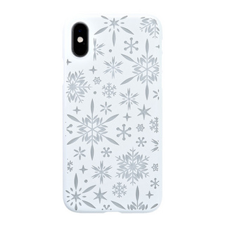 "【Web限定】Air Jacket ""Kiriko"" for iPhone XS 雪片 ピュアホワイト"