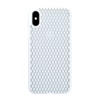 "【Web限定】Air Jacket ""Kiriko"" for iPhone XS 米つなぎ ピュアホワイト"