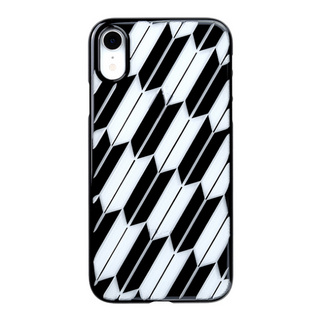 "【Web限定】Air Jacket ""Kiriko"" for iPhone XR 矢絣 ピアノブラック"