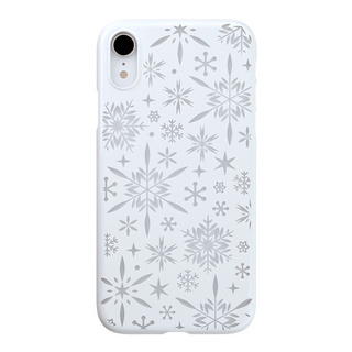 "【Web限定】Air Jacket ""Kiriko"" for iPhone XR 雪片 ピュアホワイト"