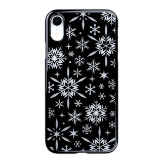 "【Web限定】Air Jacket ""Kiriko"" for iPhone XR 雪片 ピアノブラック"