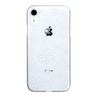"【Web限定】Air Jacket ""Kiriko"" for iPhone XR 花 クリア"