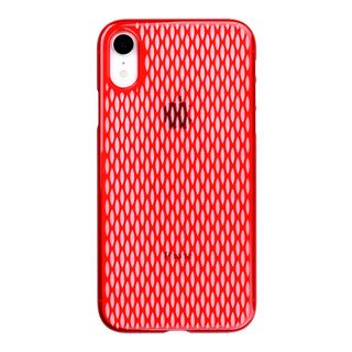 "【Web限定】Air Jacket ""Kiriko"" for iPhone XR 米つなぎ 紅"