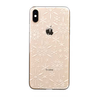 "【Web限定】Air Jacket ""Kiriko"" for iPhone XS Max 雪片 クリア"