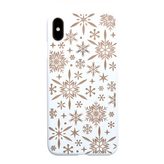 "【Web限定】Air Jacket ""Kiriko"" for iPhone XS Max 雪片 ピュアホワイト"