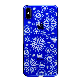 "【Web限定】Air Jacket ""Kiriko"" for iPhone XS Max 花 瑠璃"