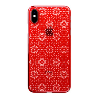 "【Web限定】Air Jacket ""Kiriko"" for iPhone XS Max 万華鏡 紅"