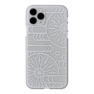 "【Web限定】Air Jacket ""kiriko"" for iPhone11 Pro エ霞に鞠 (クリア)"