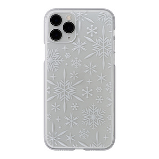"【Web限定】Air Jacket ""kiriko"" for iPhone11 Pro 雪片 (クリア)"