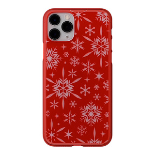"【Web限定】Air Jacket ""kiriko"" for iPhone11 Pro 雪片 (紅)"