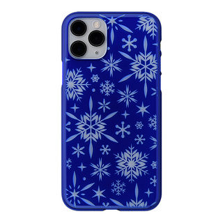 "【Web限定】Air Jacket ""kiriko"" for iPhone11 Pro 雪片 (瑠璃)"