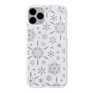 "【Web限定】Air Jacket ""kiriko"" for iPhone11 Pro 雪片 (ピュアホワイト)"