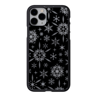 "【Web限定】Air Jacket ""kiriko"" for iPhone11 Pro 雪片 (ピアノブラック)"