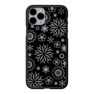 "【Web限定】Air Jacket ""kiriko"" for iPhone11 Pro 花 (ピアノブラック)"