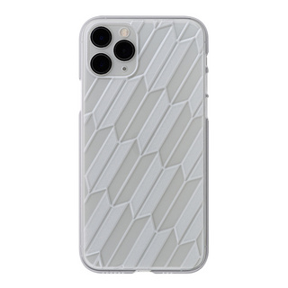 "【Web限定】Air Jacket ""kiriko"" for iPhone11 Pro 矢絣 (クリア)"