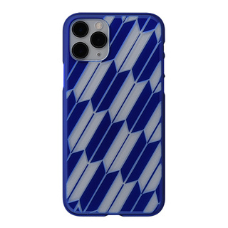 "【Web限定】Air Jacket ""kiriko"" for iPhone11 Pro 矢絣 (瑠璃)"