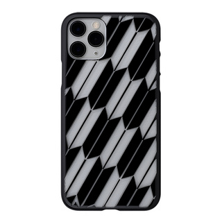 "【Web限定】Air Jacket ""kiriko"" for iPhone11 Pro 矢絣 (ピアノブラック)"