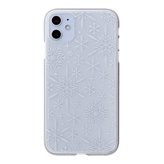 "【Web限定】Air Jacket ""kiriko"" for iPhone11 雪片 (クリア)"