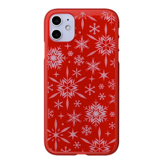"【Web限定】Air Jacket ""kiriko"" for iPhone11 雪片 (紅)"