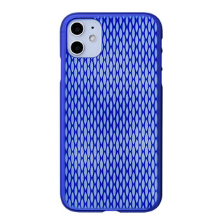 "【Web限定】Air Jacket ""kiriko"" for iPhone11 米つなぎ (瑠璃)"