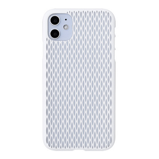 "【Web限定】Air Jacket ""kiriko"" for iPhone11 米つなぎ (ピュアホワイト)"
