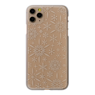 "【Web限定】Air Jacket ""kiriko"" for iPhone11 Pro Max 雪片 (クリア)"