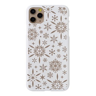 "【Web限定】Air Jacket ""kiriko"" for iPhone11 Pro Max 雪片 (ピュアホワイト)"