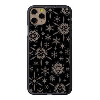 "【Web限定】Air Jacket ""kiriko"" for iPhone11 Pro Max 雪片 (ピアノブラック)"