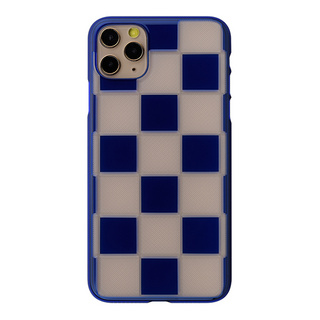"【Web限定】Air Jacket ""kiriko"" for iPhone11 Pro Max 市松 (瑠璃)"