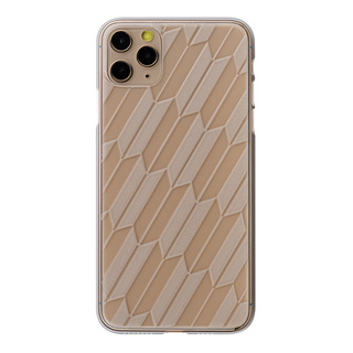 "【Web限定】Air Jacket ""kiriko"" for iPhone11 Pro Max 矢絣 (クリア)"