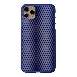 "【Web限定】Air Jacket ""kiriko"" for iPhone11 Pro Max 米つなぎ (瑠璃)"
