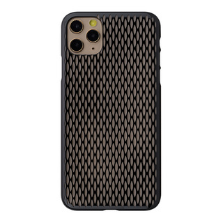 "【Web限定】Air Jacket ""kiriko"" for iPhone11 Pro Max 米つなぎ (ピアノブラック)"