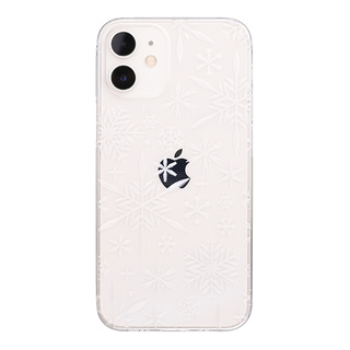 "【Web限定】Air Jacket ""kiriko"" for iPhone12 mini 雪片 (クリア)"