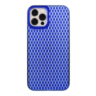 "【Web限定】Air Jacket ""kiriko"" for iPhone12 / iPhone12 Pro 米つなぎ (瑠璃)"