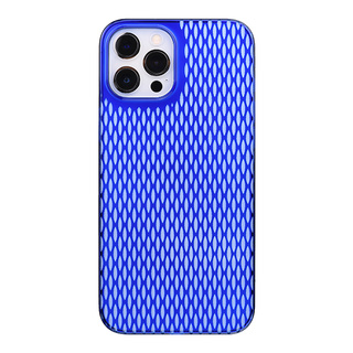 "【Web限定】Air Jacket ""kiriko"" for iPhone12 Pro Max 米つなぎ (瑠璃)"