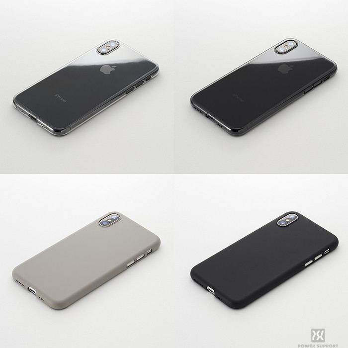 "hot sale online 2aa0d ac701 究極の薄さとフィット感でiPhoneを守る""Air Jacket for iPhone XS / XS ..."