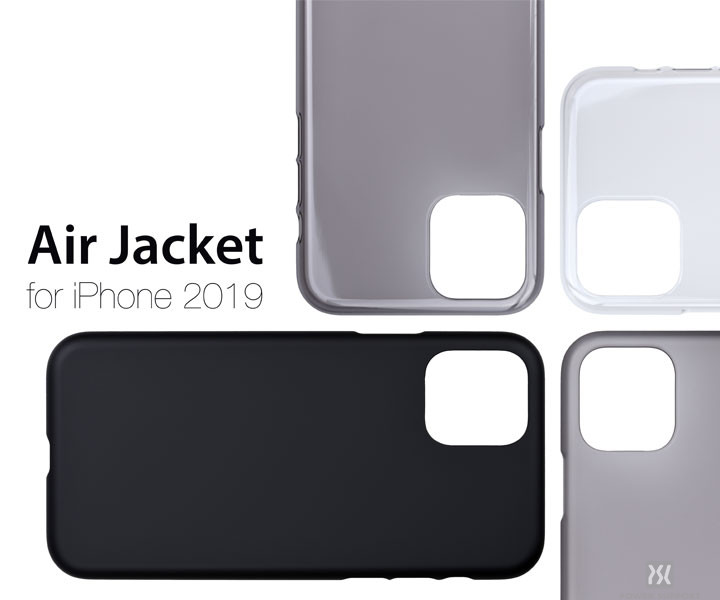 【Air Jacket for iPhone 11/11 Pro/11 Pro Max】新素材採用!史上最高のエアージャケット登場!