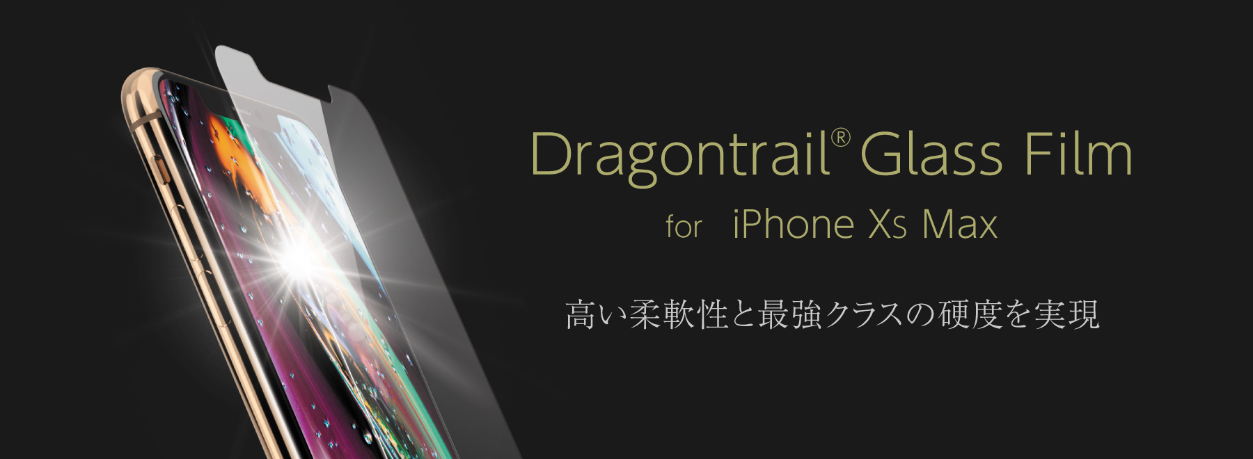 Dragontrail® Glass Film for iPhone XS Max, XR