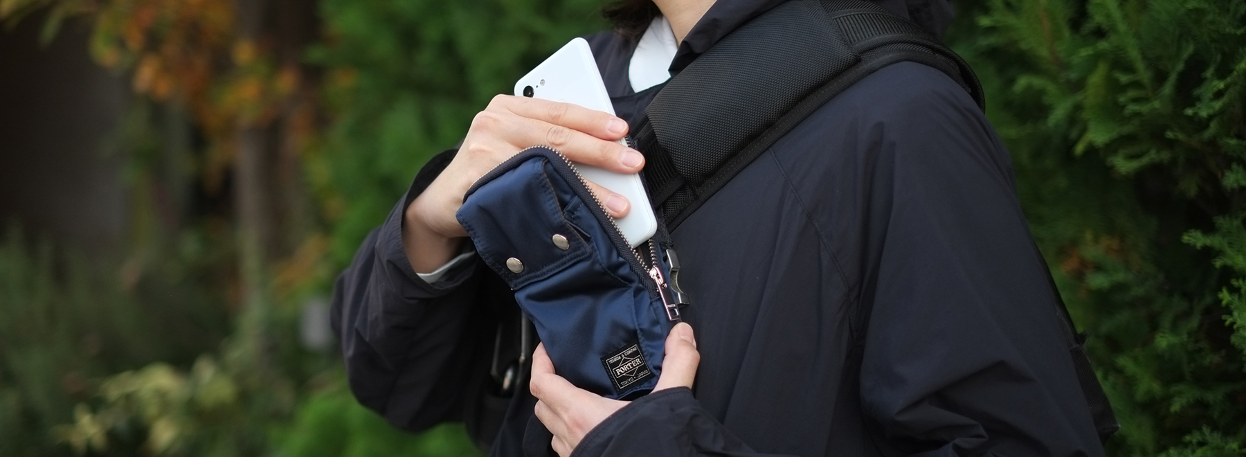 Mobile Pouch for Pixel ライフスタイルフォト